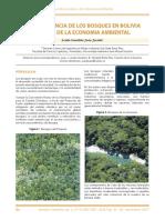 Importancia de Los Bosques en Bolivia
