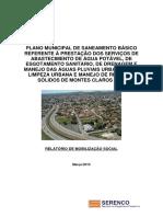 PLANO MUNICIPAL DE SANEAMENTO BÁSICO REFERENTE À PRESTAÇÃO DOS SERVIÇOS DE ABASTECIMENTO DE ÁGUA POTÁVEL, DE ESGOTAMENTO SANITÁRIO, DE DRENAGEM E MANEJO DAS ÁGUAS PLUVIAIS URBANAS E DE LIMPEZA URBANA E MANEJO DE RESÍDUOS SÓLIDOS DE MONTES CLAROS (MG)