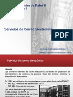 Desarrollo de Redes de Datos II - Servicios de Correo Electronico