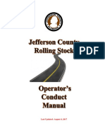 Operator's Conduct Manual REVISED