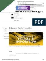 Ordenanza Fiscal e impositiva de la Municipalidad de Campana