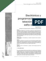Electrónica y la Programación