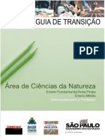 Guia de Transição - Ciências Da Natureza - 1º Bimestre