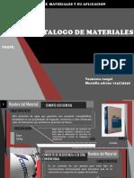 Materiales Catalogo