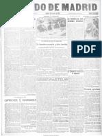 El Heraldo de Madrid. 26-5-1923