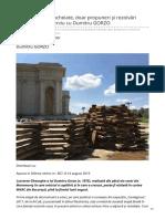 Dilemaveche.ro-n-Am Proiecte Încheiate Doar Propuneri Şi Rezolvări Temporare Interviu Cu Dumitru GORZO