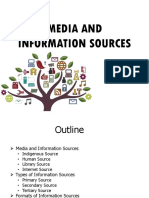 LESSON 5 Media & Information Sources