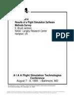 Results Of Flight Simulation Software Survey, Jackson, Nasa-Aiaa-95-3414.pdf