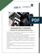 Manual de Estructura Comunicación Social