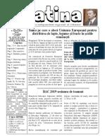 Datina - 4.09.2019 - prima pagină