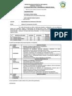 Informe - Requerimiento de Personal Empleado