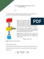 Aplicación de Maquinas Termicas y Segunda Ley de La Termocinamica