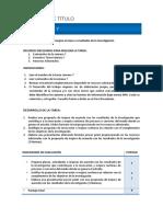 Instrucciones Tarea S7 Proyecto