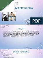 Manorexia