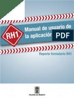 Manual Usuario Reporte RH1