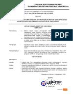 SK Penetapan Program Sertifikasi Sektor Industri Subsidi Kemenperin