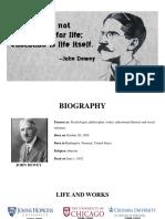 Final Ppt Dewey