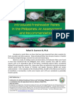 NAST Bulletin No. 7 - Introduced Freshwater Fishes in the Philippines (1)
