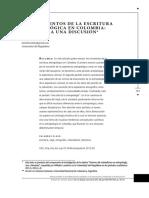 2013 Londoño Tres momentos de la escritura antropológica en colombia notas para una discusion.pdf