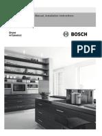 Bosch Dryer Instructions 9001322036_A