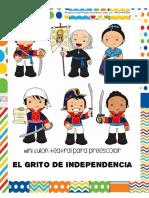 Mini Guión teatral para preescolar El Grito de Independencia.  Planeaciones Preescolar Miss Lesly (1)