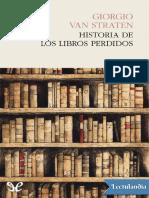 00- Historia de Los Libros Perdidos - Giorgio Van Straten