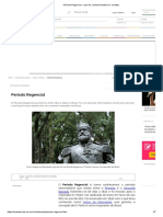 Período Regencial_ o Que Foi, Contexto Histórico e Revoltas