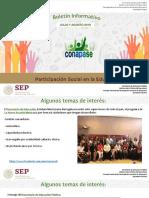 Boletín Informativo Conapase Jul-Ago2019