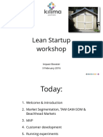 Lean Startup Training