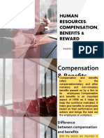 Hrm Benefits, Compensation and Rewards