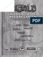 D20 Modern - Gamma World - Midnight in the Mistery Garden