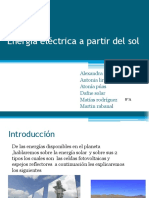 Energía Eléctrica a Partir Del Sol(1) (1)