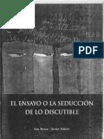 [Bravo, Aduriz]_El_Ensayo_o_La_Seducción_de_Lo_Discutible
