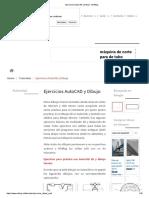 Ejercicios AutoCAD y Dibujo - MVBlog