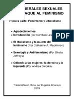 El liberalismo y la muerte del feminismo  Por Catharine A. MacKinnon