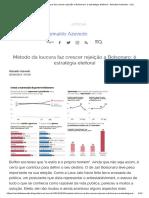 Método Da Loucura Faz Crescer Rejeição a Bolsonaro é Estratégia Eleitoral