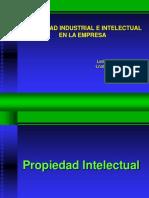 PROPIEDAD INTELECTUAL 1 Introducción