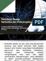 Penulisan Resep Narkotika dan Psikotropika.ppt