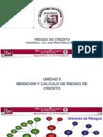 Medición y Calculo Del Riesgo de Credito
