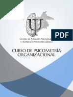 Curso de Psicometría Organizacional Pachuca