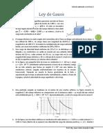 Problemas Ley de Gauss