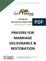 Prayers for Marriage Deliverance Restoration1