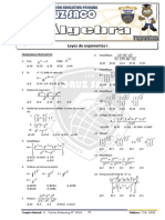 Algebra - 3er Año - I Bimestre