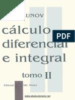 Cálculo Diferencial e Integral Tomo II - N. Piskunov - 3ed.PDF