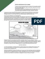 Centros Hidrograficos de Colombia