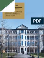 Brochure Cambridge Business Analytics Sep 19