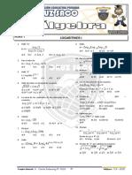 Algebra - 4to Año - IV Bimestre