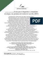 Guia latinoamericana para el diagnóstico y tratamiento de alergia a las proteínas de la leche de vaca