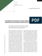 Experiências Editoriais Latino-Americanas e a criação de um circuito intelectual autônomo