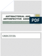 Antibacterial and Antiinfective Agents